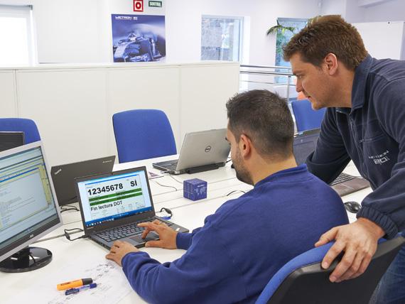 Carrera profesional en proyectos de automatización y control